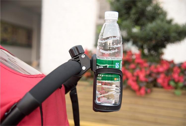 universal stroller coffee cup holder milk bottle rack water bottle holder fit pushchair prams crib bicycle buggy