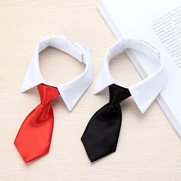 Dog Necktie Formal Pet Costume
