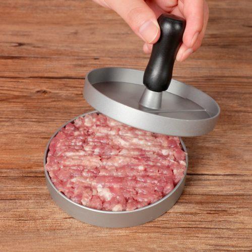 Round Metal Burger Patty Mold