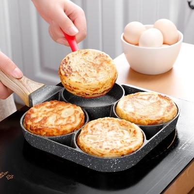 Four Hole Non Stick Pancake Pan