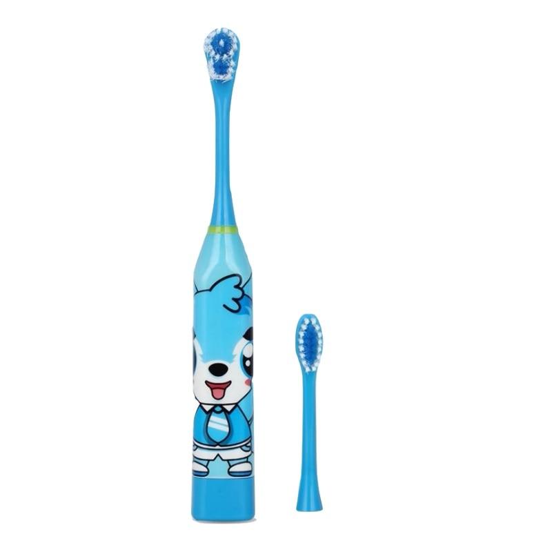Vbatty Children's Toothbrush Cartoon Sonic Electric Toothbrush Oral Hygiene Teeth Care Tooth Brush Kids Battery Power brush