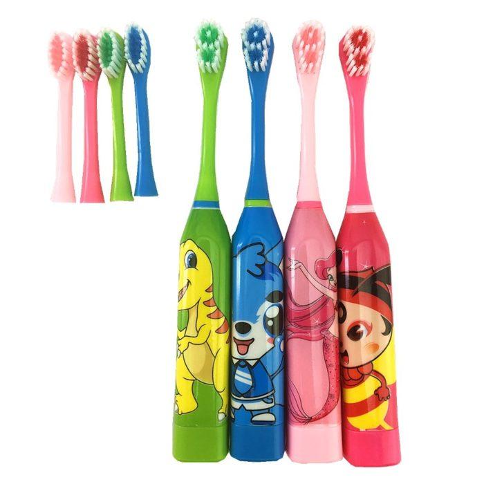 Cartoon Design Children's Electric Toothbrush