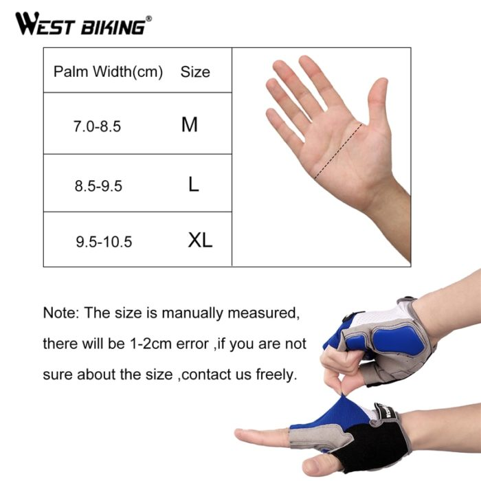 Cycling Gloves Half Finger Style