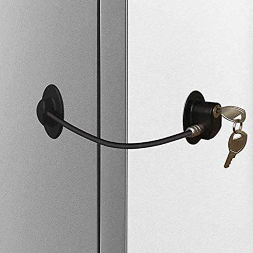 Self-Adhesive Refrigerator Safety Lock