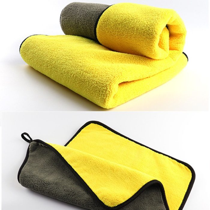 Double-Sided Microfiber Car Towel