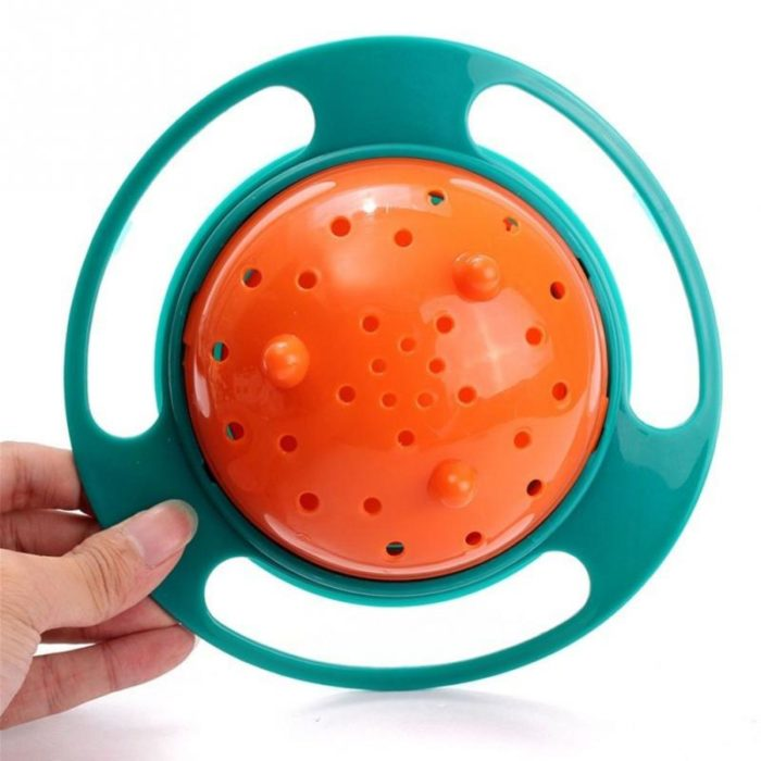 Rotatable Universal Baby Non Spill Bowl