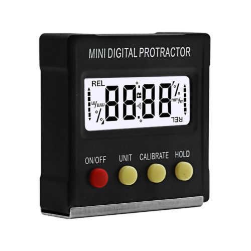 Portable 360-Degree Mini Digital Protractor