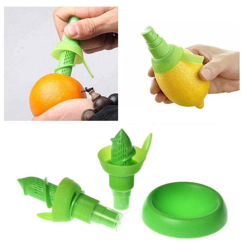 KONCO 2pcs Lemon Juice Sprayer, Manual Orange Juice Citrus Spray for fresh flavor, Lemon Squeezer for Salad, Kitchen Gadgets