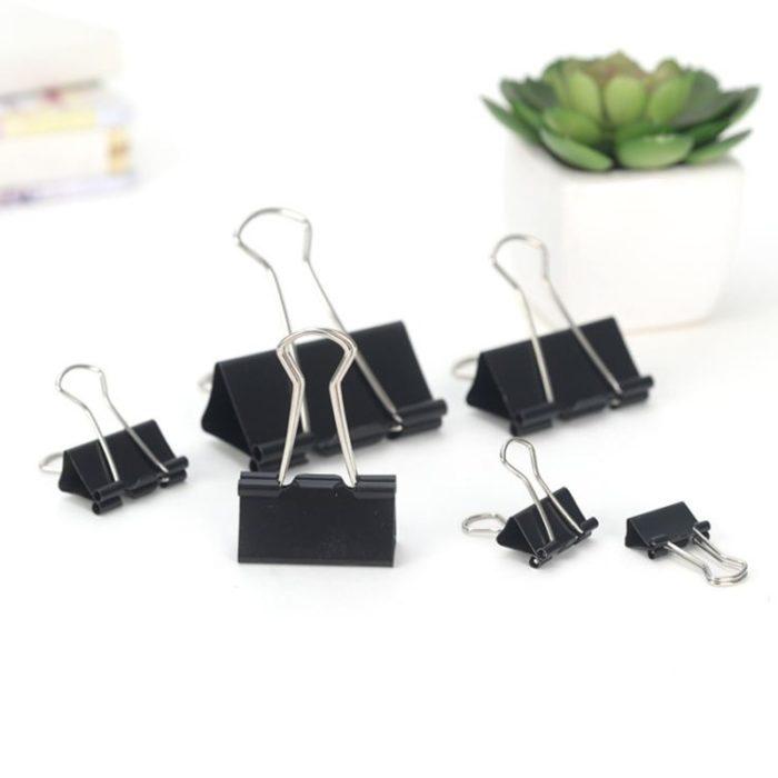 Paper Clamps Metal Binder Clips (10 Pcs)