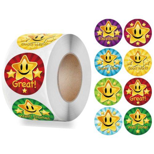 Cute Reward Stickers for Kids