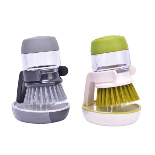 Dishwashing Brush with Soap Dispenser