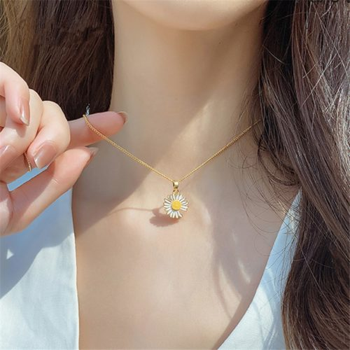 Daisy Necklace Summer Women Jewelry