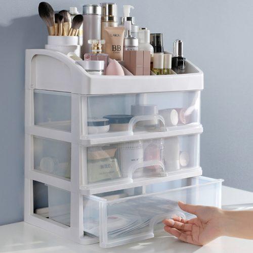 Makeup Storage Drawers Organizer