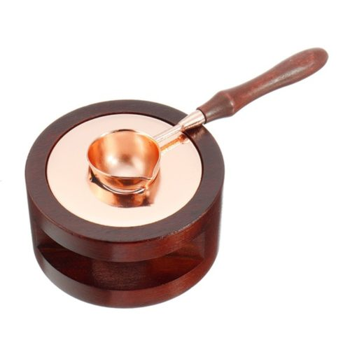 Sealing Wax Melter Furnace with Spoon