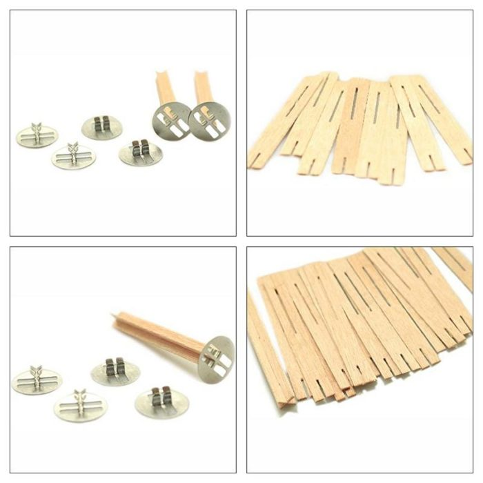 Natural Wooden Candle Wicks (50pcs)