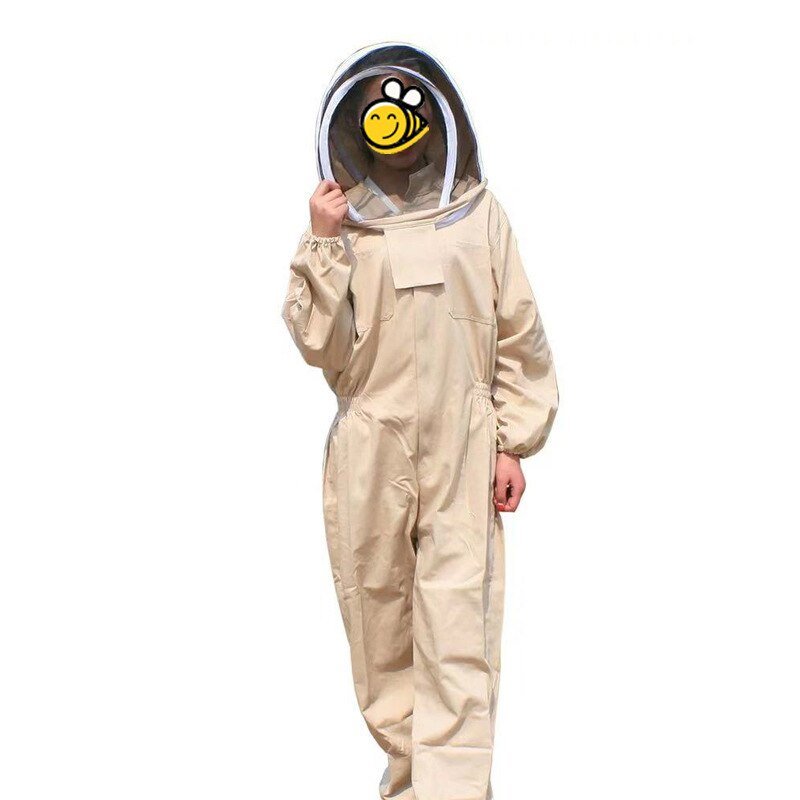 New Beekeeping tools beekeeping bee protection full body jumpsuits full set of space suits gloves