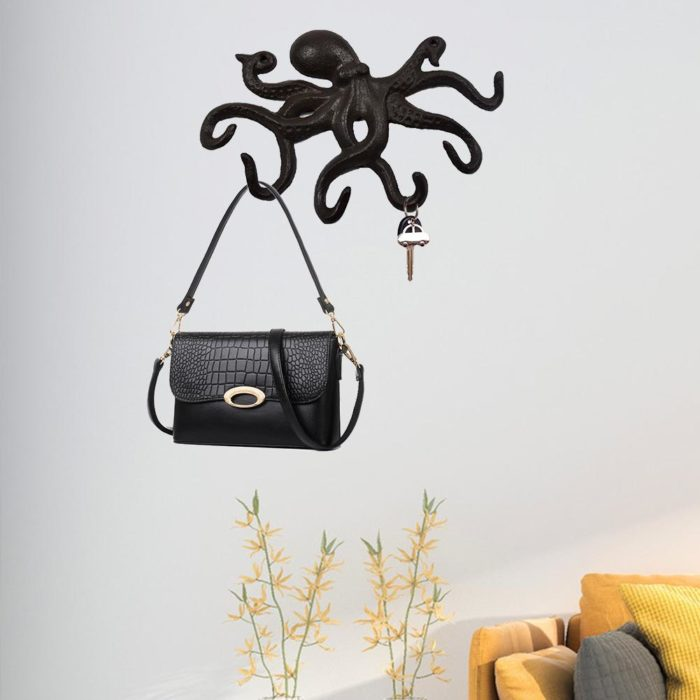 Wall-Mounted Octopus Key Holder