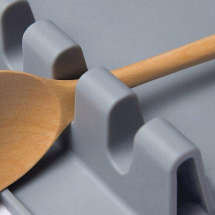 Silicone Heat-Resistant Spatula Rest