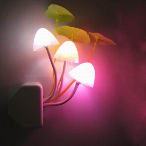 Creative LED Mushroom Night Lamp