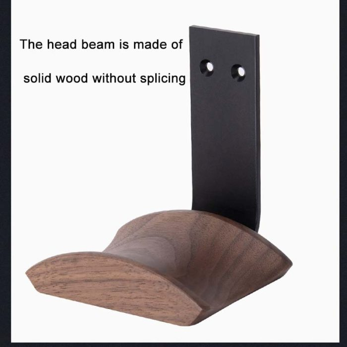 Wooden Headset Holder for Desk