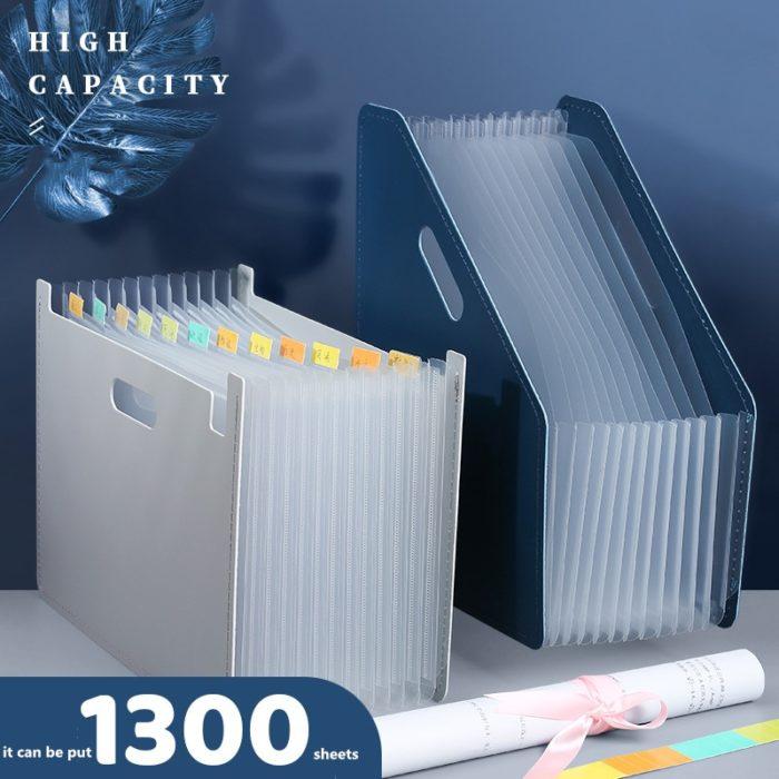 Large Capacity Expandable Desk Filer