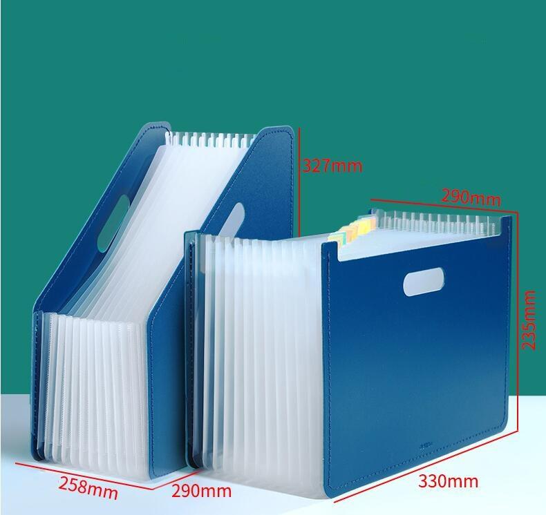 2020 New Arrival Desk File Folder Document Paper Organizer Storage Holder Multilayer Expanding Box School Office Stationery