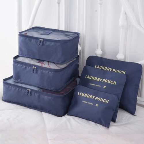 6 Pieces Luggage Packing Cubes
