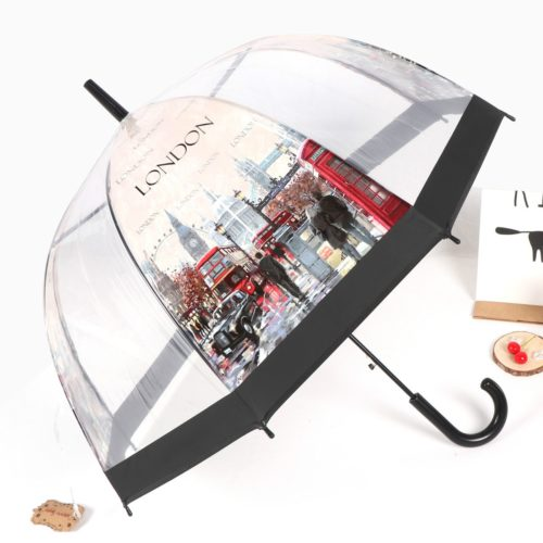 Transparent Clear Dome Umbrella