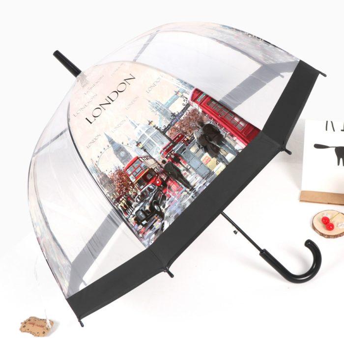 Transparent Clear Dome Umbrella