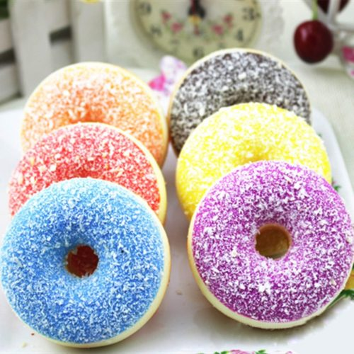 Donut Squishy Stress Reliever Toy