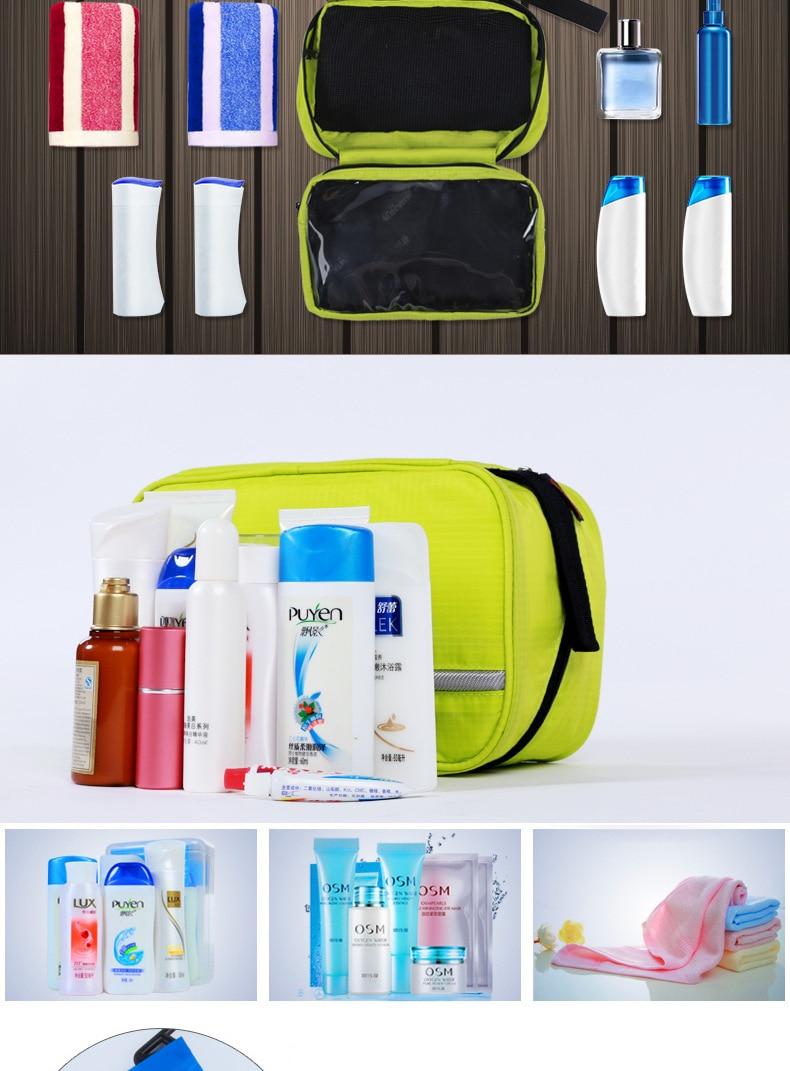 Travel Wash Bag Hanging Toiletry Bag