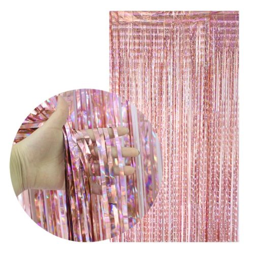 Metallic Party Foil Curtain Backdrop