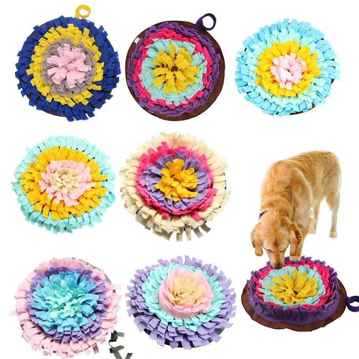 Polyester Snuffle Mat for Cats