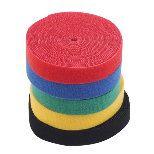 Polyester Colored Velcro Tape Roll