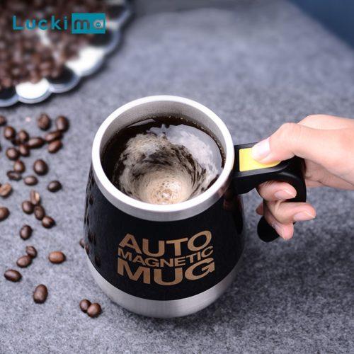 Self-Stirring Auto Stirring Mug