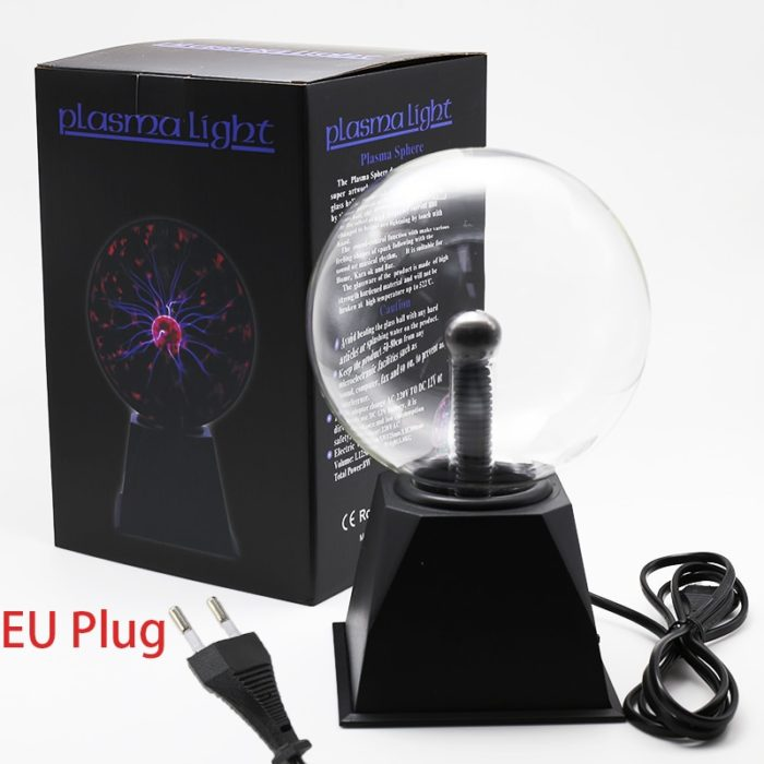 Plasma Ball Light Night Lamp Decor