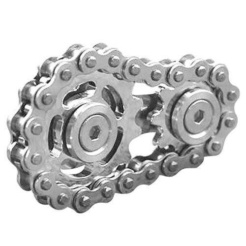 Metal Anti-Stress Gear Fidget Spinner