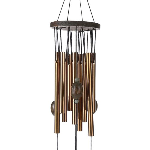 Copper Wind Chimes Hanging Decor