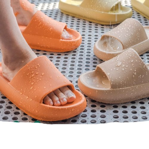 Thick Waterproof Washroom Slippers