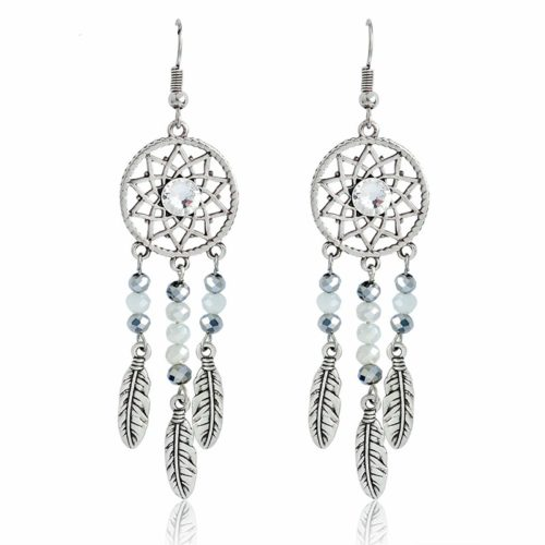 Ladies Fashionable Dreamcatcher Earrings