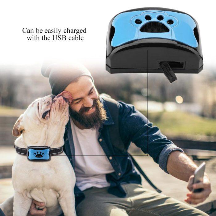 USB Rechargeable Anti Barking Collar