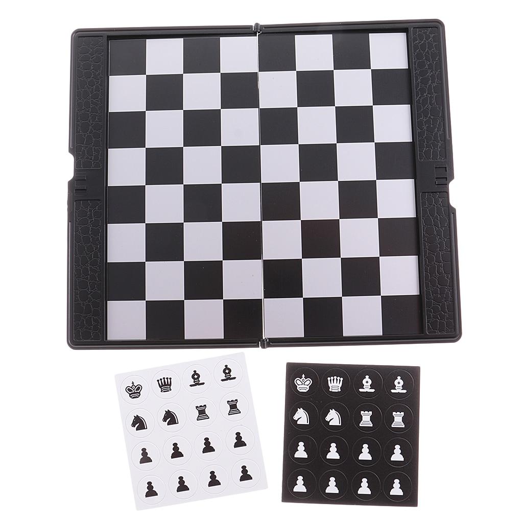 Mini Magnetic Travel Chess Wallet Set Good Design Gift for Travel Durable