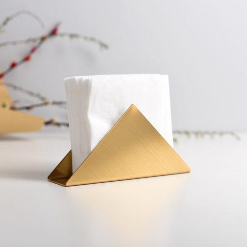 Triangle Stainless Steel Napkin Holder