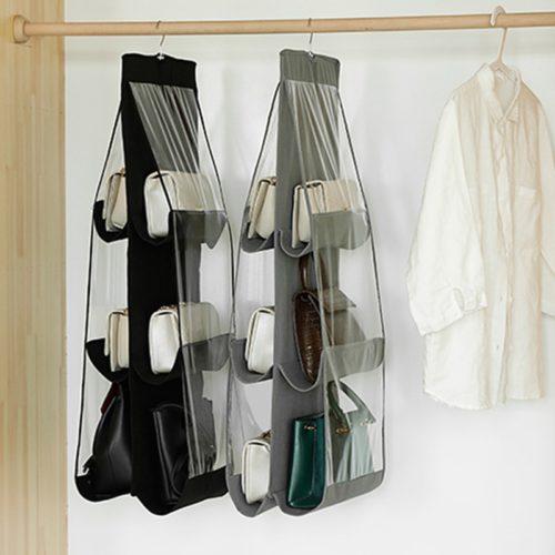 6-Pocket Hanging Bag Organizer