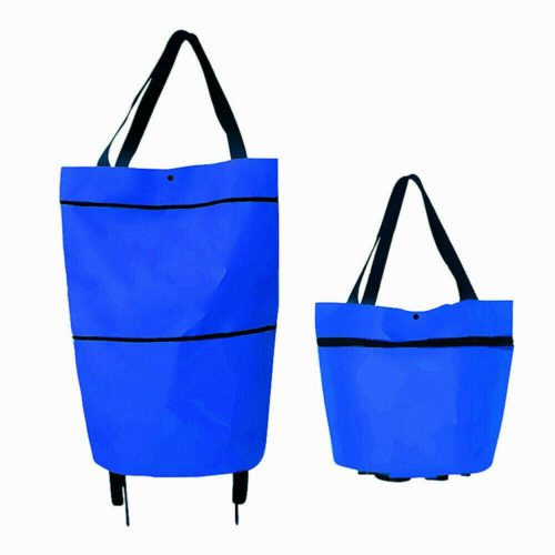 Shopping Bag with Wheels Foldable Trolley