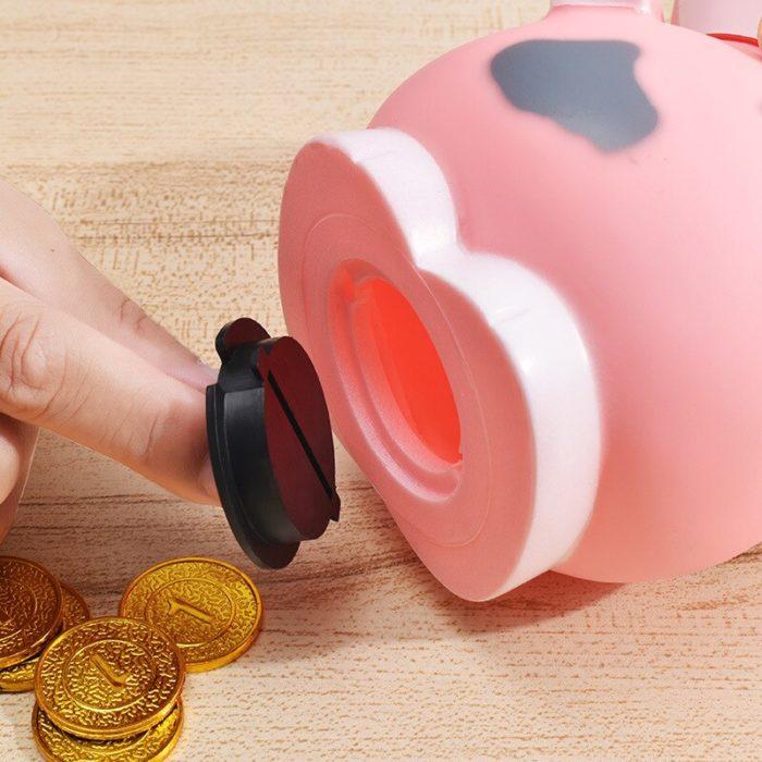 Cow Piggy Bank Kids Money Coin Keeper