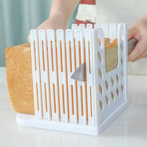 Loaf Slicer Bread Cutting Guide Tool