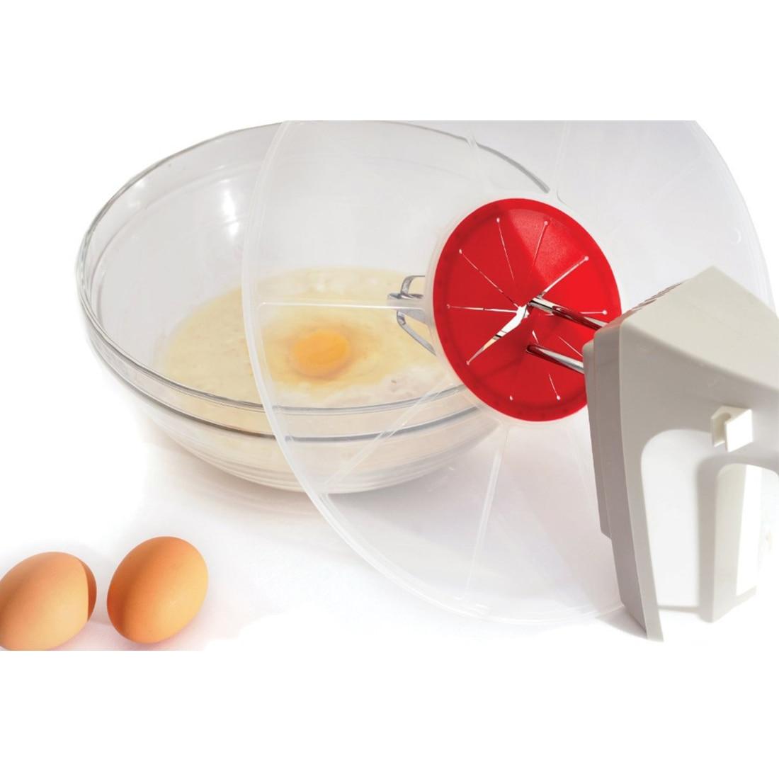 Mixing bowls Egg Bowl Whisks Screen Cover Beat Egg Cylinder Baking Splash Guard bowl lids Kitchen waterproof bowl lids