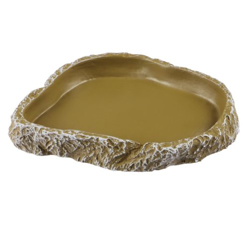 Non-Slip Resin Reptile Water Bowl