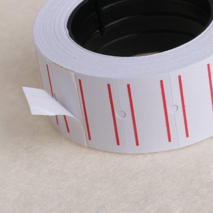 Paper Price Label Stickers Roll (500pcs)